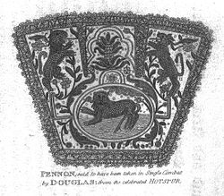 Pennon of Sir Henry (Hotspur) Percy, Battle of Otterburn.jpg