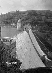 Penygarreg Dam, Elan Valley