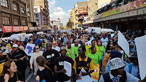 Xenophobia - March against xenophobia, Johannesburg, 23 April 2015