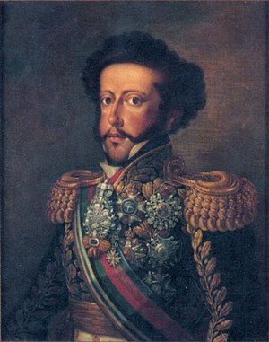 History of the Constitution of Brazil - Pedro I, Emperor of Brazil.