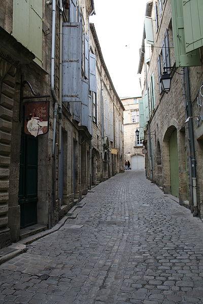 Pézenas (Hérault) - rue de la foire.