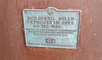 Deer Valley Petroglyph Preserve - Image: Phoenix Deer Valley Rock Art Center Marker Petroglyph 2