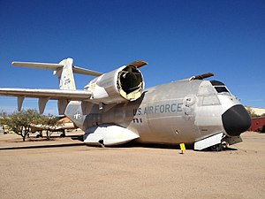 Boeing YC-14 - The first YC-14 on display at Pima Air Museum