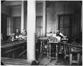 Photograph of four San Francisco Mint employees in the Draw Bench Room. - NARA - 296556.tif