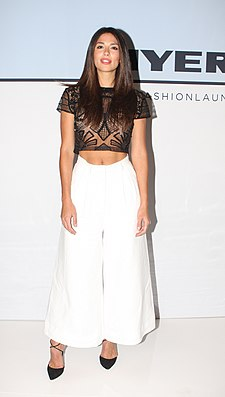 Pia Miller at Myer Fashion Spring Launch 2015 (19919413003).jpg