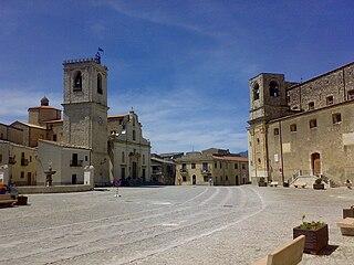 Palazzo Adriano Comune in Sicily, Italy