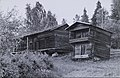Picture of timber barns belonging to the Kovala house where Akseli Gallen-Kallela lived during a short period of time in 1928 (34216321753).jpg