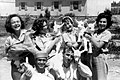 PikiWiki Israel 2941 Kibutz Gan-Shmuel sk27- 123 -גן-שמואלנערות ונערים עם גדיים 1953.JPG