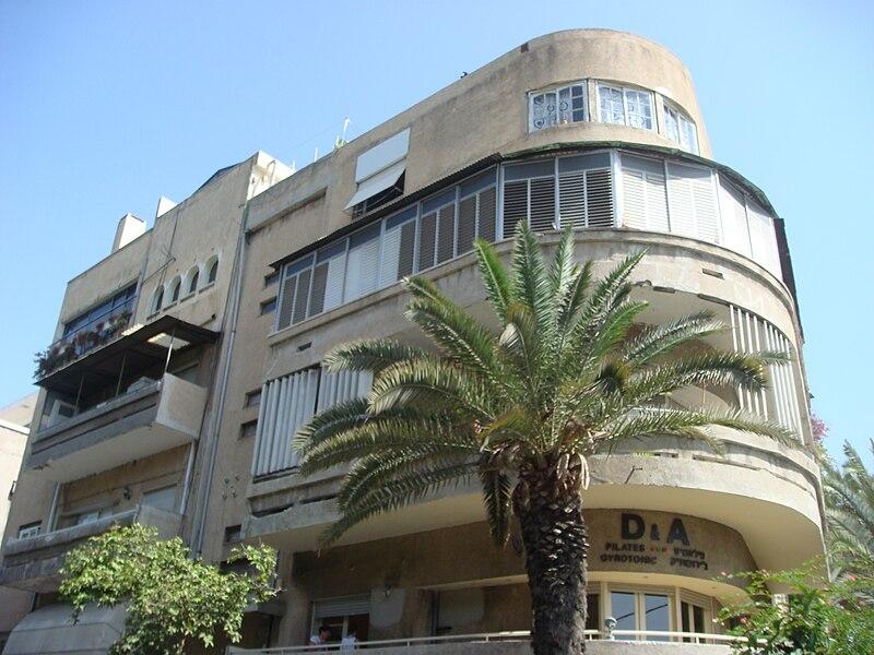 העיר הלבנה בתל אביב