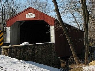 New Britain, Pennsylvania - Pine Valley Covered Bridge