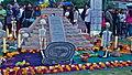 Pirámide en una Ofrenda de la UNAM.JPG