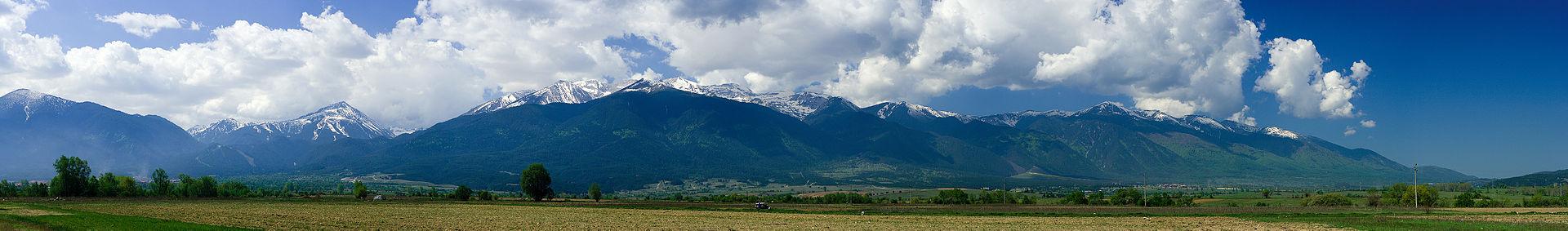 Панорама Пирина. Болгария. Купить горящий тур в Болгарию . http://gela.in.ua