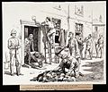 Plague in Cape Town; convicts cleansing and disinfecting inf Wellcome L0027581.jpg