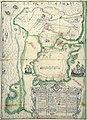 Plano de la Plaza de Melilla como está en principio de febrero de 1699.jpg