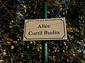 Plaque Allée Curtil Budin St Cyr Menthon 2011-11-16.jpg