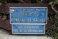 Plaque avenue Général Gaulle St Mandé 3.jpg