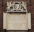 Plaquette op de gevel van Drukkerij Enschede en Zn in Haarlem.jpg