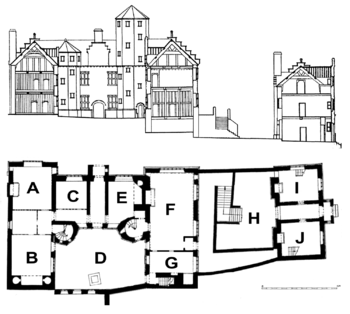 Mansion2833fp together with Playboy Mansion At 10236 Charing Cross together with Technical Drawing Of House as well Plas Mawr moreover 76838 ruledhouse. on mansion home plans