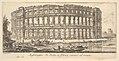 Plate 23- Amphitheater of Pola in Istria near the sea (Anfiteatro di Pola in Istria vicino al mare) MET DP827967.jpg