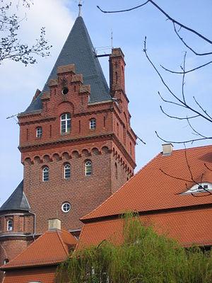 Plattenburg (castle) - Tower on Plattenburg castle