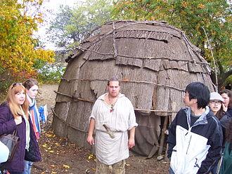 Plimoth Plantation - Image: Plimoth Plantation Native American Wigwam