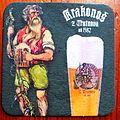 Podkładka pod piwo czeskie Krakonos.jpg