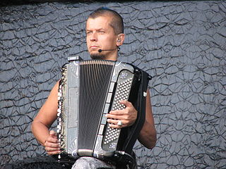 Kimmo Pohjonen Finnish accordionist (born 1964)