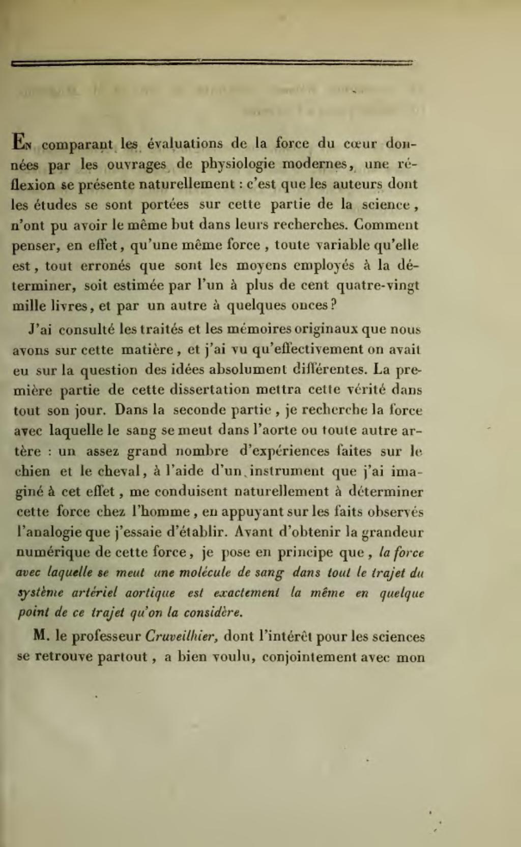 dissertation de laorte