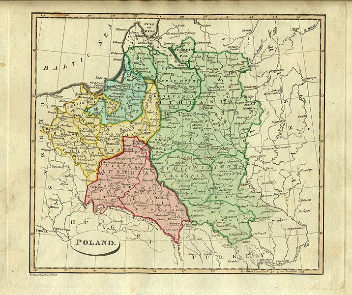 Archivo:Poland map (1814).jpg