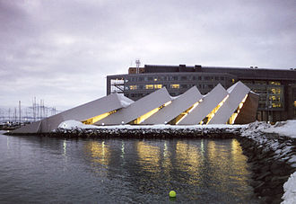 1998 in architecture - Polaria in Tromsø, Northern Norway
