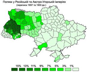 Поширеність польськомовного
