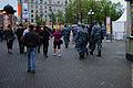 Police patrols on Pushkin Square. (7162792624).jpg