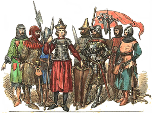 Polish–Teutonic War (1431–35) - Polish knights of the era