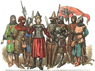 Polish–Teutonic War (1431–35) - Polish knights of the era