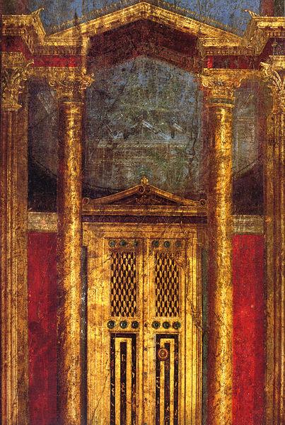 Fichier:Pompeii - Villa dei Misteri - Cubiculum 2.jpg