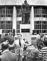 Ponce de Leon statue at the Miami Public Library - Miami, Florida.jpg