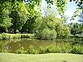 Pond at Inglewood House - geograph.org.uk - 180468.jpg