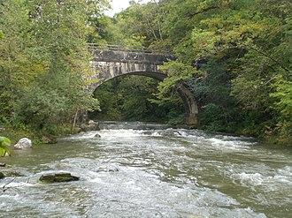 Allondon - Image: Pont Granges (Allondon)