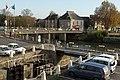 Pont saint Nicolas et pont sur le canal (Redon, Ille-et-Vilaine, France).jpg