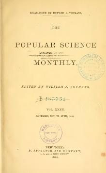 Popular Science Monthly Volume 32.djvu