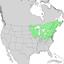 Populus grandidentata range map 1.png