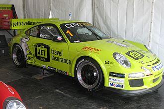 Craig Baird - Baird won the 2012 Australian Carrera Cup Championship in this Jet Travel Insurance entry.