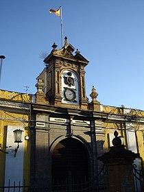 Portada de la Real Fábrica de Artillería de Sevilla.JPG