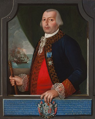 Bernardo de Gálvez, 1st Viscount of Galveston - Portrait of Gálvez, c. 1785