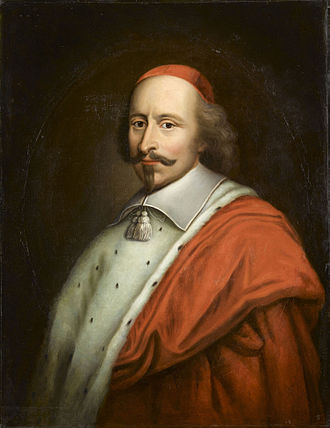 Fronde - Cardinal Mazarin, French diplomat and statesman; portrait attributed to Mathieu Le Nain