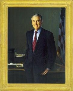 Portrait of Lloyd Bentsen
