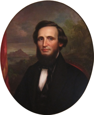 William Little Lee - Portrait of William Little Lee, Aliʻiōlani Hale