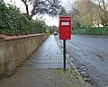 Post box on Carpenters Lane, West Kirby.jpg