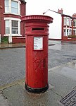 Post box on Comely Bank Road.jpg
