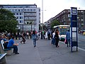 Praha, Na Knížecí, Ostrovského, SOR CN 12, Arriva Praha, D 93 Blatná.jpg